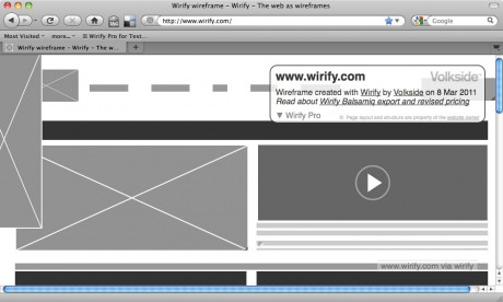 Wirify Pro - Editing a wireframe - Wirify user guide